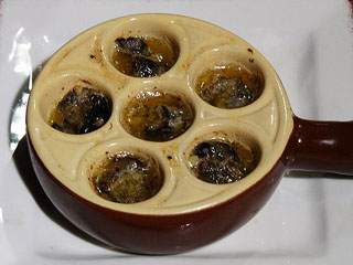 Escargot from farm to table